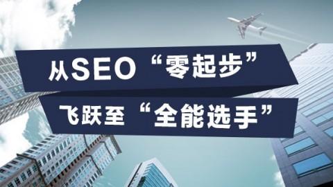 """从SEO""""零起步""""飞跃至""""全能选手"""""""
